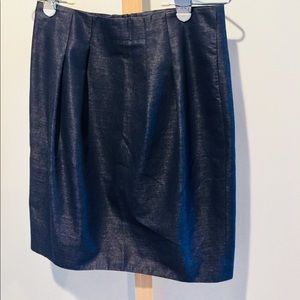 Magaschoni collection skirt - navy blue sz 4